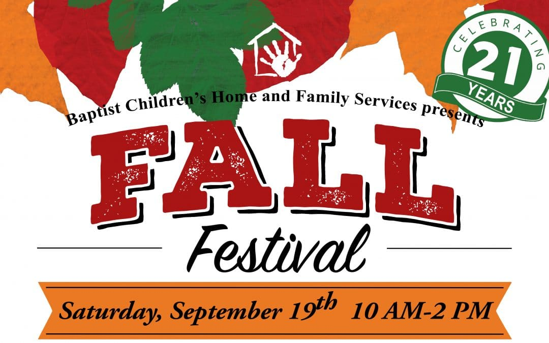 *IMPORTANT UPDATE* 2020 BCHFS Fall Festival